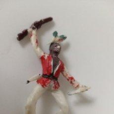 Figuras de Goma y PVC: FIGURA JINETE INDIO JECSAN. Lote 208470332
