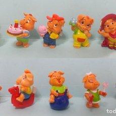 Figuras de Borracha e PVC: COLECCION COMPLETA FIGURAS KINDER - PINKY PIGGYS. Lote 208676645