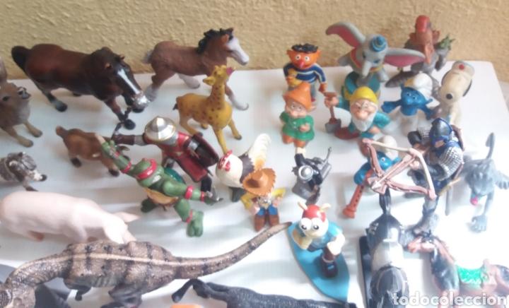 Figuras de Goma y PVC: GRAN LOTE DE FIGURAS DE GOMA, 64 EN TOTAL, VARIAS MARCAS - Foto 7 - 208679520