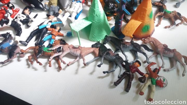 Figuras de Goma y PVC: GRAN LOTE DE FIGURAS DE GOMA, 64 EN TOTAL, VARIAS MARCAS - Foto 9 - 208679520
