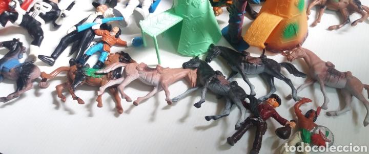 Figuras de Goma y PVC: GRAN LOTE DE FIGURAS DE GOMA, 64 EN TOTAL, VARIAS MARCAS - Foto 2 - 208679520