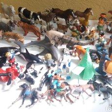 Figuras de Goma y PVC: GRAN LOTE DE FIGURAS DE GOMA, 64 EN TOTAL, VARIAS MARCAS. Lote 208679520