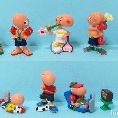 Figuras de Borracha e PVC: COLECCION COMPLETA FIGURAS KINDER - BILL BODY - SUPER SPORT. Lote 208681575