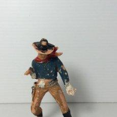 Figuras de Goma y PVC: FIGURA VAQUERO COWBOY EN PLASTICO , SERIE OESTE COMANSI. Lote 208730618