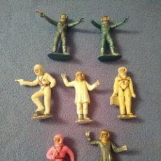 Figuras de Goma y PVC: LOTE FIGURAS PLÁSTICO ASTRONAUTAS CASA JECSAN. Lote 208767345