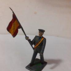 Figuras de Goma y PVC: REAMSA ABANDERADO OFICIAL EJERCITO ESPAÑOL PLASTICO. Lote 208816187