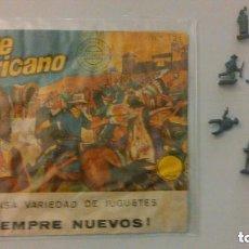 Figuras de Goma y PVC: MONTAPLEX - OESTE AMERICANO. Lote 209066167