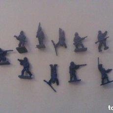 Figuras de Goma y PVC: MONTAPLEX - NORTEAMERICA YANQUIS - GRUPO DE COMBATE. Lote 209066292