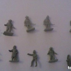 Figuras de Goma y PVC: MONTAPLEX - NORTEAMERICA CONFEDERADOS - GRUPO DE COMBATE. Lote 209066376