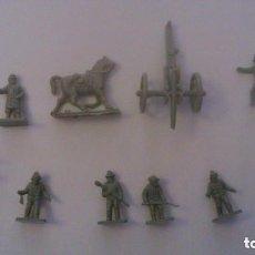 Figuras de Goma y PVC: MONTAPLEX - NORTEAMERICA CONFEDERADOS - GRUPO DE COMBATE. Lote 209066415