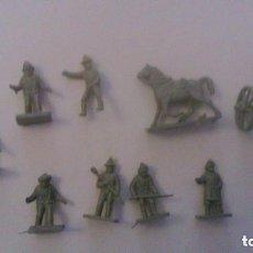 Figuras de Goma y PVC: MONTAPLEX - NORTEAMERICA CONFEDERADOS - GRUPO DE COMBATE. Lote 209066440