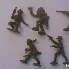 Figuras de Goma y PVC: MONTAPLEX - HOBBY PLAST - ATRACO A LA DILIGENCIA. Lote 209066648