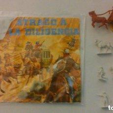 Figuras de Goma y PVC: MONTAPLEX - GETTISBURG - SOBRE ABIERTO Y CONTENIDO. Lote 209066680