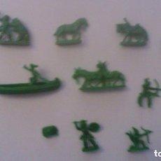 Figuras de Goma y PVC: MONTAPLEX - FIGURAS PERTENECIENTES AL SOBRE DAVY CROCKETT. Lote 209066741