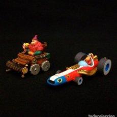 Figuras de Goma y PVC: DUNKIN DE LUXE / 2 AUTOS LOCOS HANNA-BARBERA. Lote 209110956
