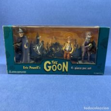 Figuras de Goma y PVC: LOTE DE ERIC POWELL´S - THE GOON - 3 PIEZAS - DARK HORSE COMICS - AÑO 2004. Lote 209115355