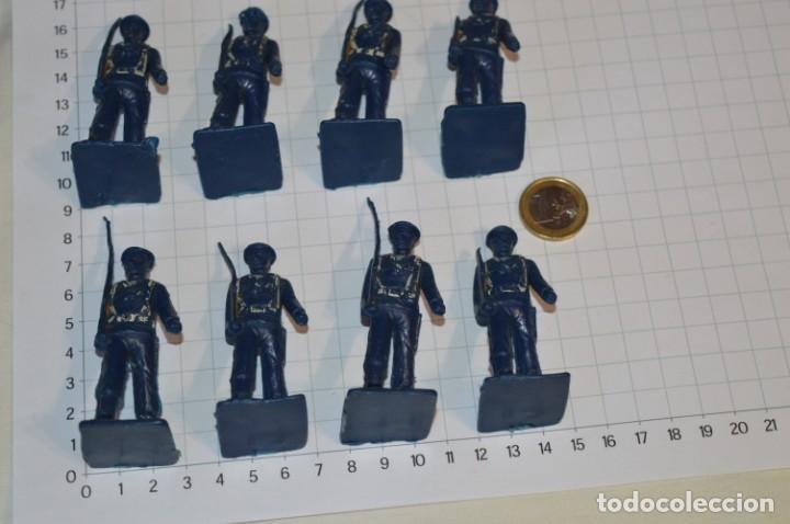 Figuras de Goma y PVC: SOLDADOS MARINEROS / Antiguos - Plástico / PVC - Reamsa, Gomarsa, Jecsan, Comansi, otros ... ¡Mira! - Foto 2 - 209132323