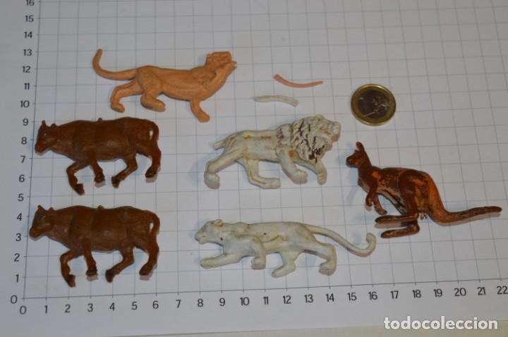 ANIMALES - FIERAS / ANTIGUOS - PLÁSTICO / PVC - REAMSA, GOMARSA, JECSAN, COMANSI, OTROS ... ¡MIRA! (Juguetes - Figuras de Goma y Pvc - Otras)