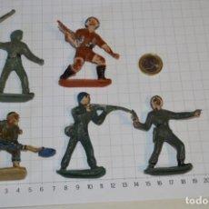 Figuras de Goma y PVC: SOLDADOS VARIADOS / ANTIGUOS - PLÁSTICO / PVC - REAMSA, GOMARSA, JECSAN, COMANSI, OTROS ... ¡MIRA!. Lote 209137357