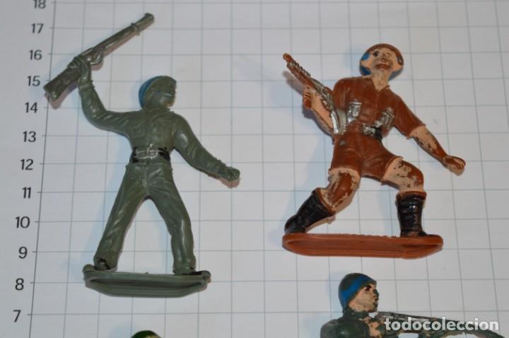 Figuras de Goma y PVC: SOLDADOS VARIADOS / Antiguos - Plástico / PVC - Reamsa, Gomarsa, Jecsan, Comansi, otros ... ¡Mira! - Foto 2 - 209137357