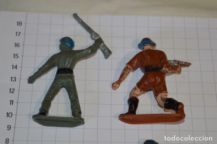 Figuras de Goma y PVC: SOLDADOS VARIADOS / Antiguos - Plástico / PVC - Reamsa, Gomarsa, Jecsan, Comansi, otros ... ¡Mira! - Foto 3 - 209137357