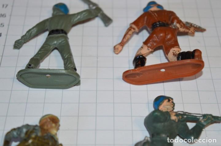 Figuras de Goma y PVC: SOLDADOS VARIADOS / Antiguos - Plástico / PVC - Reamsa, Gomarsa, Jecsan, Comansi, otros ... ¡Mira! - Foto 4 - 209137357