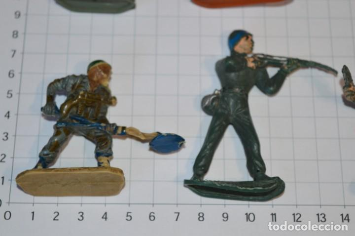 Figuras de Goma y PVC: SOLDADOS VARIADOS / Antiguos - Plástico / PVC - Reamsa, Gomarsa, Jecsan, Comansi, otros ... ¡Mira! - Foto 5 - 209137357