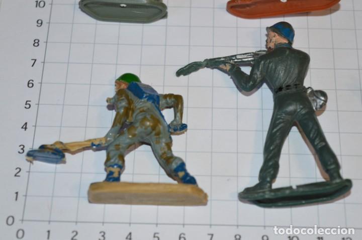 Figuras de Goma y PVC: SOLDADOS VARIADOS / Antiguos - Plástico / PVC - Reamsa, Gomarsa, Jecsan, Comansi, otros ... ¡Mira! - Foto 6 - 209137357