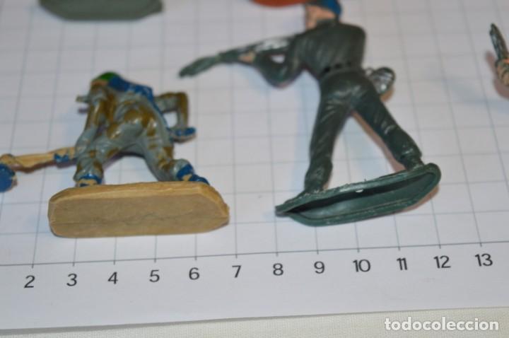 Figuras de Goma y PVC: SOLDADOS VARIADOS / Antiguos - Plástico / PVC - Reamsa, Gomarsa, Jecsan, Comansi, otros ... ¡Mira! - Foto 7 - 209137357