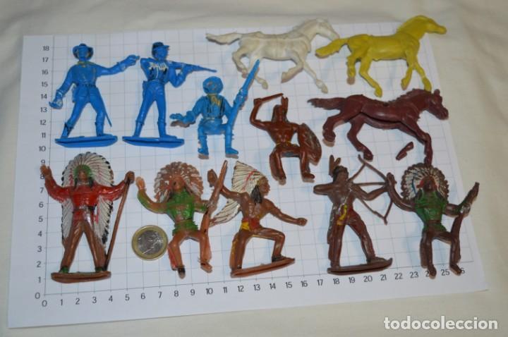 SOLDADOS / INDIOS / ANTIGUOS - PLÁSTICO / PVC - REAMSA, GOMARSA, JECSAN, COMANSI, OTROS ... ¡MIRA! (Juguetes - Figuras de Goma y Pvc - Comansi y Novolinea)