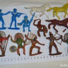 Figuras de Goma y PVC: SOLDADOS / INDIOS / ANTIGUOS - PLÁSTICO / PVC - REAMSA, GOMARSA, JECSAN, COMANSI, OTROS ... ¡MIRA!. Lote 209138036