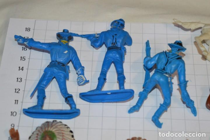 Figuras de Goma y PVC: SOLDADOS / INDIOS / Antiguos - Plástico / PVC - Reamsa, Gomarsa, Jecsan, Comansi, otros ... ¡Mira! - Foto 3 - 209138036