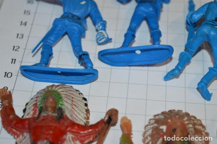 Figuras de Goma y PVC: SOLDADOS / INDIOS / Antiguos - Plástico / PVC - Reamsa, Gomarsa, Jecsan, Comansi, otros ... ¡Mira! - Foto 4 - 209138036