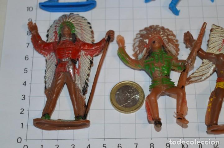 Figuras de Goma y PVC: SOLDADOS / INDIOS / Antiguos - Plástico / PVC - Reamsa, Gomarsa, Jecsan, Comansi, otros ... ¡Mira! - Foto 7 - 209138036