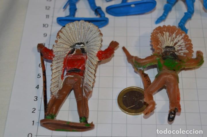Figuras de Goma y PVC: SOLDADOS / INDIOS / Antiguos - Plástico / PVC - Reamsa, Gomarsa, Jecsan, Comansi, otros ... ¡Mira! - Foto 8 - 209138036