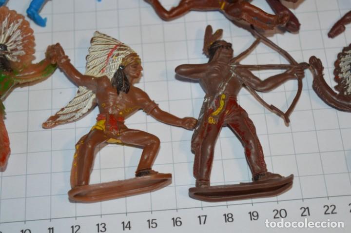 Figuras de Goma y PVC: SOLDADOS / INDIOS / Antiguos - Plástico / PVC - Reamsa, Gomarsa, Jecsan, Comansi, otros ... ¡Mira! - Foto 9 - 209138036