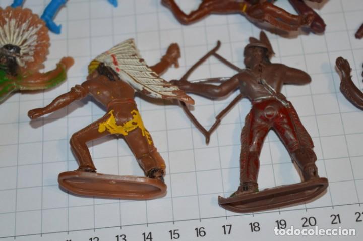 Figuras de Goma y PVC: SOLDADOS / INDIOS / Antiguos - Plástico / PVC - Reamsa, Gomarsa, Jecsan, Comansi, otros ... ¡Mira! - Foto 10 - 209138036
