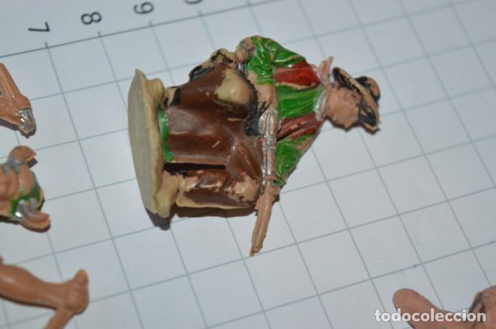 Figuras de Goma y PVC: VAQUEROS / INDIOS / Antiguos - Plástico / PVC - Reamsa, Gomarsa, Jecsan, Comansi, otros ... ¡Mira! - Foto 2 - 209138910