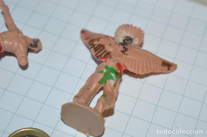 Figuras de Goma y PVC: VAQUEROS / INDIOS / Antiguos - Plástico / PVC - Reamsa, Gomarsa, Jecsan, Comansi, otros ... ¡Mira! - Foto 7 - 209138910