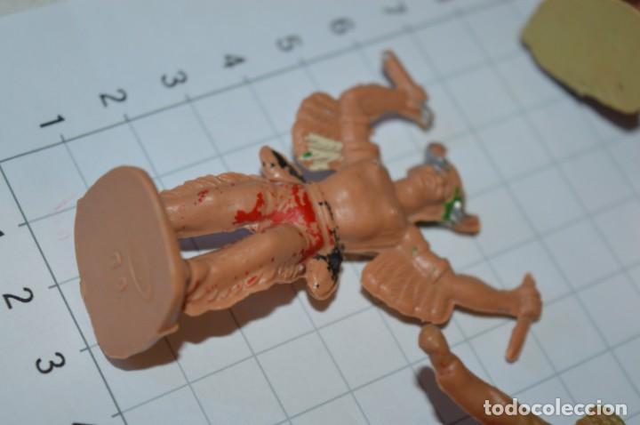 Figuras de Goma y PVC: VAQUEROS / INDIOS / Antiguos - Plástico / PVC - Reamsa, Gomarsa, Jecsan, Comansi, otros ... ¡Mira! - Foto 8 - 209138910