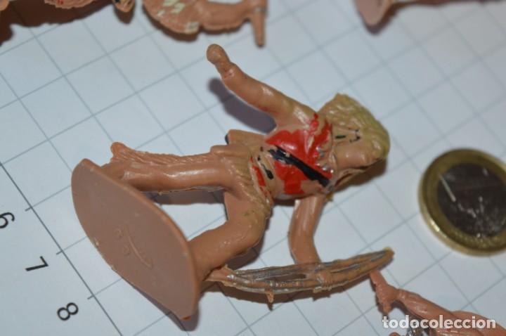 Figuras de Goma y PVC: VAQUEROS / INDIOS / Antiguos - Plástico / PVC - Reamsa, Gomarsa, Jecsan, Comansi, otros ... ¡Mira! - Foto 10 - 209138910
