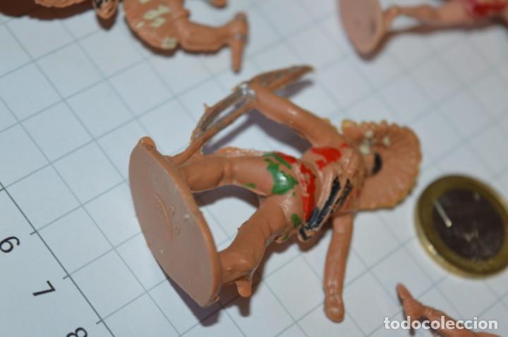 Figuras de Goma y PVC: VAQUEROS / INDIOS / Antiguos - Plástico / PVC - Reamsa, Gomarsa, Jecsan, Comansi, otros ... ¡Mira! - Foto 11 - 209138910