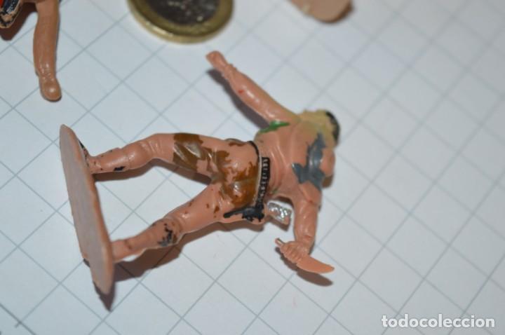 Figuras de Goma y PVC: VAQUEROS / INDIOS / Antiguos - Plástico / PVC - Reamsa, Gomarsa, Jecsan, Comansi, otros ... ¡Mira! - Foto 13 - 209138910