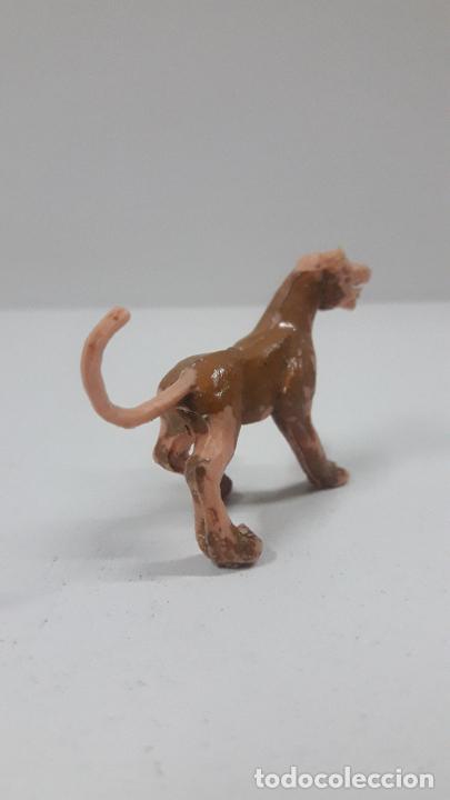 Figuras de Goma y PVC: EL PUMA GARRITAS . SERIE EL CAPITAN TRUENO . REALIZADO POR ESTEREOPLAST . AÑOS 60 - Foto 4 - 209246296