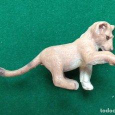 Figuras de Goma y PVC: CACHORRO DE LEÓN DE MARCA DESCONOCIDA DE ANIMALES A ESTRENAR. Lote 209303183