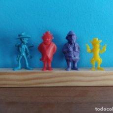 Figuras de Borracha e PVC: DUNKIN,LOTE LUCKY LUKE. Lote 209346942