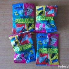 Figuras de Goma y PVC: PHOSKITOS PROMOCION BROMAS PEGAJOSAS 4 UNDS.+ PIEZA KINDER. Lote 209392375