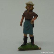 Figuras de Goma y PVC: CAZADORA DE LA SERIE NEGROS Y SAFARI DE PECH .. Lote 209422062