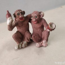Figuras de Borracha e PVC: 2 FIGURAS DE GOMA MONOS LAFREDO. Lote 209579952