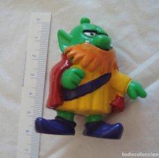 Figuras de Goma y PVC: JUGUETE, MUÑECO, FIGURA GOMA O PVC, ASTROSNIKS, BULLY SNIK 10, PITUFO VERDE. Lote 209639100